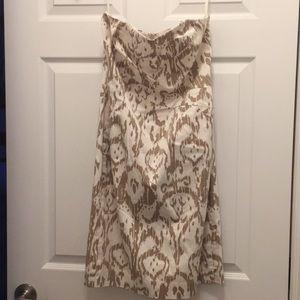 MIchael Kors Strapless Shift Dress